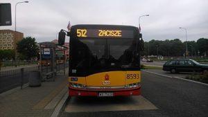 Chcemy jeździć 512 do Centrum!